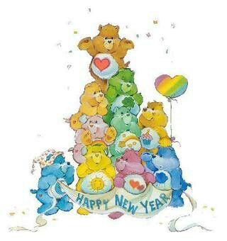 bears clipart new years eve