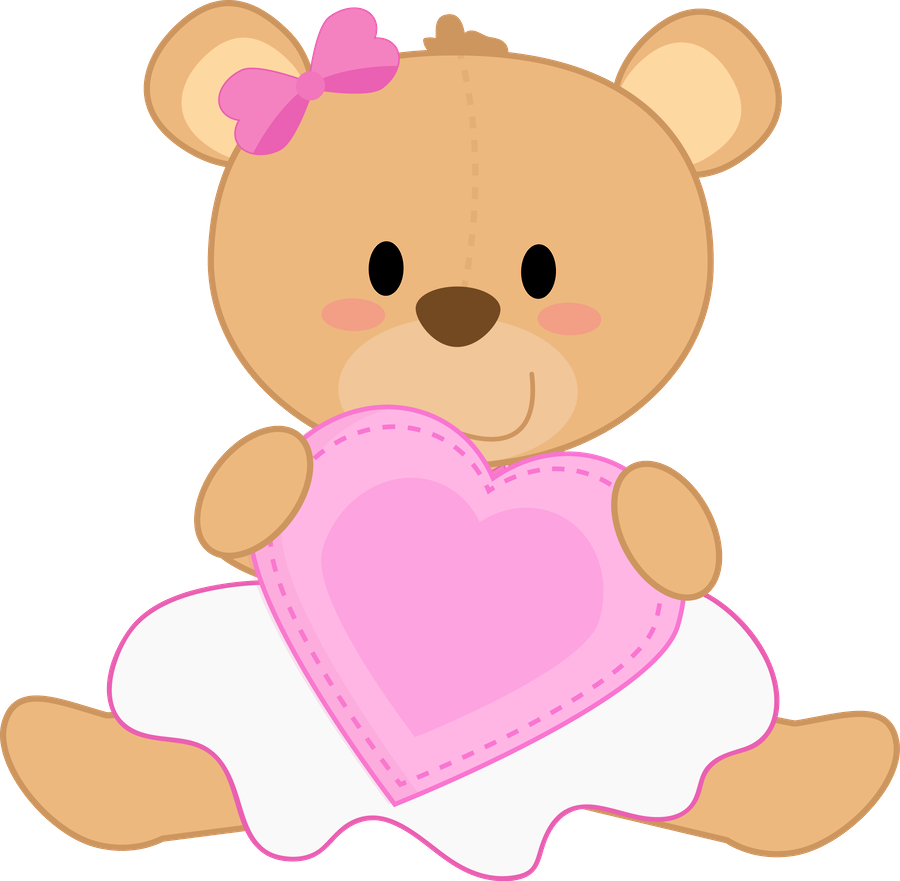 Pin by irin a. Bears clipart pink