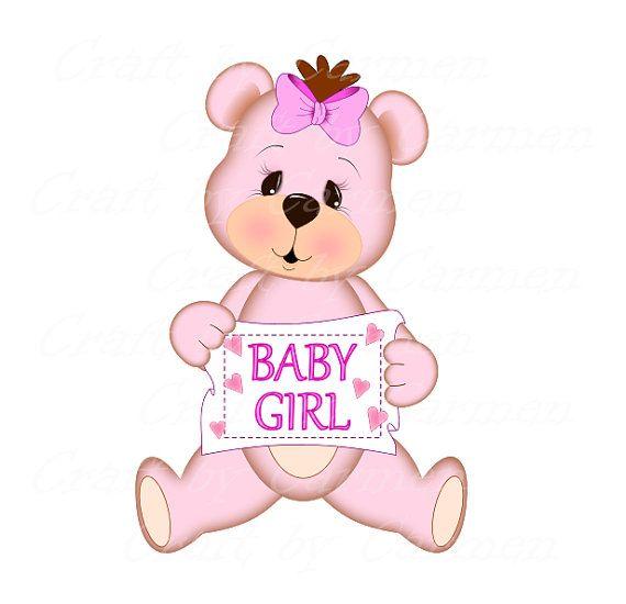 Bears clipart pink. Teddy bear cute scrapbook