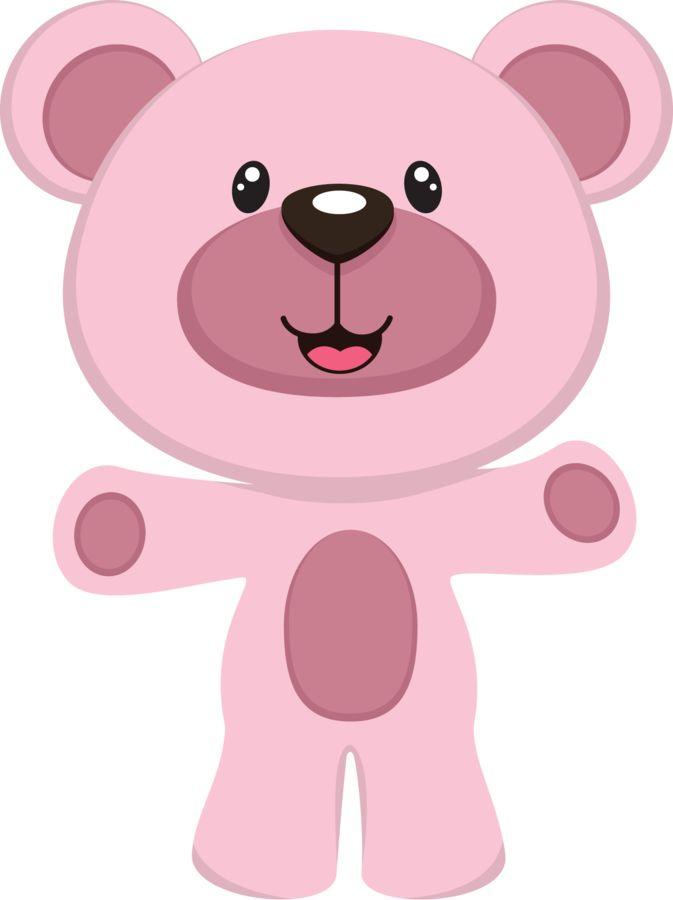 best ursa images. Bears clipart pink