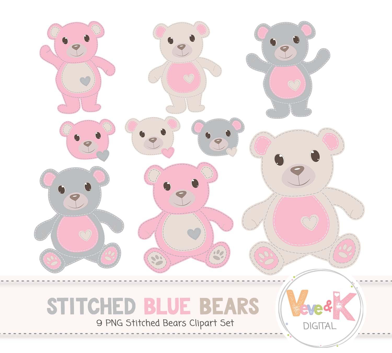 Teddy bear clip art. Bears clipart pink
