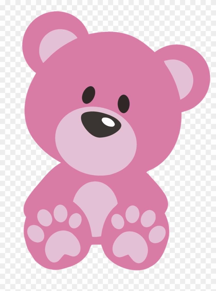 Shining inspiration teddy bear. Bears clipart pink