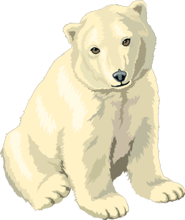 Free images graphics animated. Bears clipart polar bear