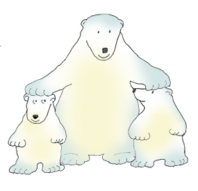 Clip art pictures of. Bears clipart polar bear