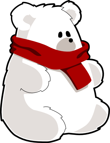 Free teddy bear animations. Bears clipart red