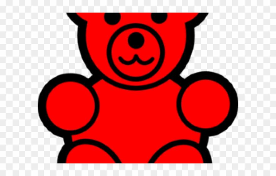 Bears clipart red. Gummy bear redteddy clip
