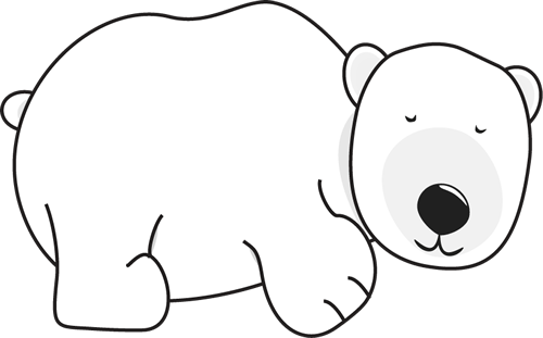 Bear clip art images. Bears clipart sleeping