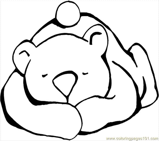 Bears clipart sleeping.  best stained glass