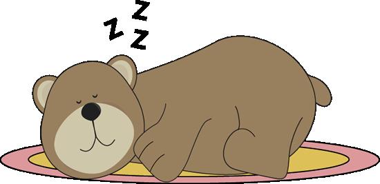 Bears clipart sleeping. Bear clip art images