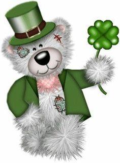 Saint patrick clip art. Bears clipart st patricks day