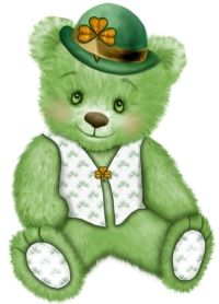 Bears clipart st patricks day.  best patrick s