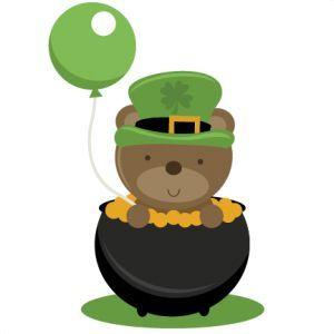 best clip art. Bears clipart st patricks day