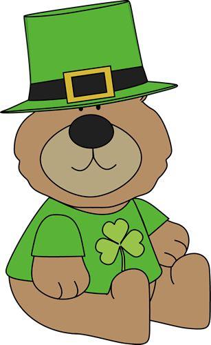 Bears clipart st patricks day.  best clip art