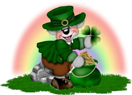 best gifs patrick. Bears clipart st patricks day