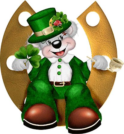 best irish images. Bears clipart st patricks day