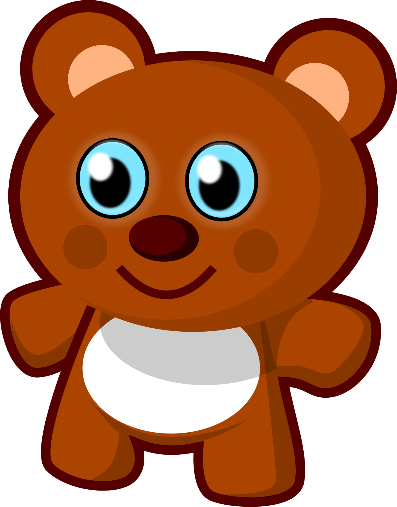 Weight clipart cute. Clip art bear teddy