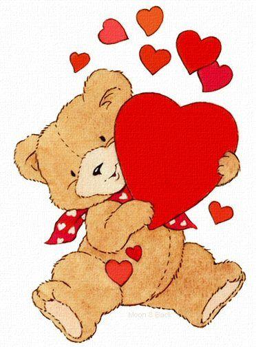Bears clipart valentines. Day holiday desktops bear