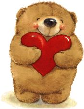 Bears clipart valentines.  best day clip
