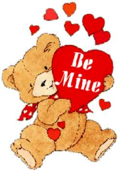 Bears clipart valentines. Free valentine picture of