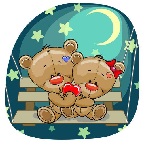 best clip art. Bears clipart vector