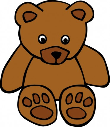 Free images download clip. Bear clipart vector