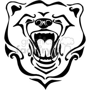 Bears clipart wild. Royalty free vector clip