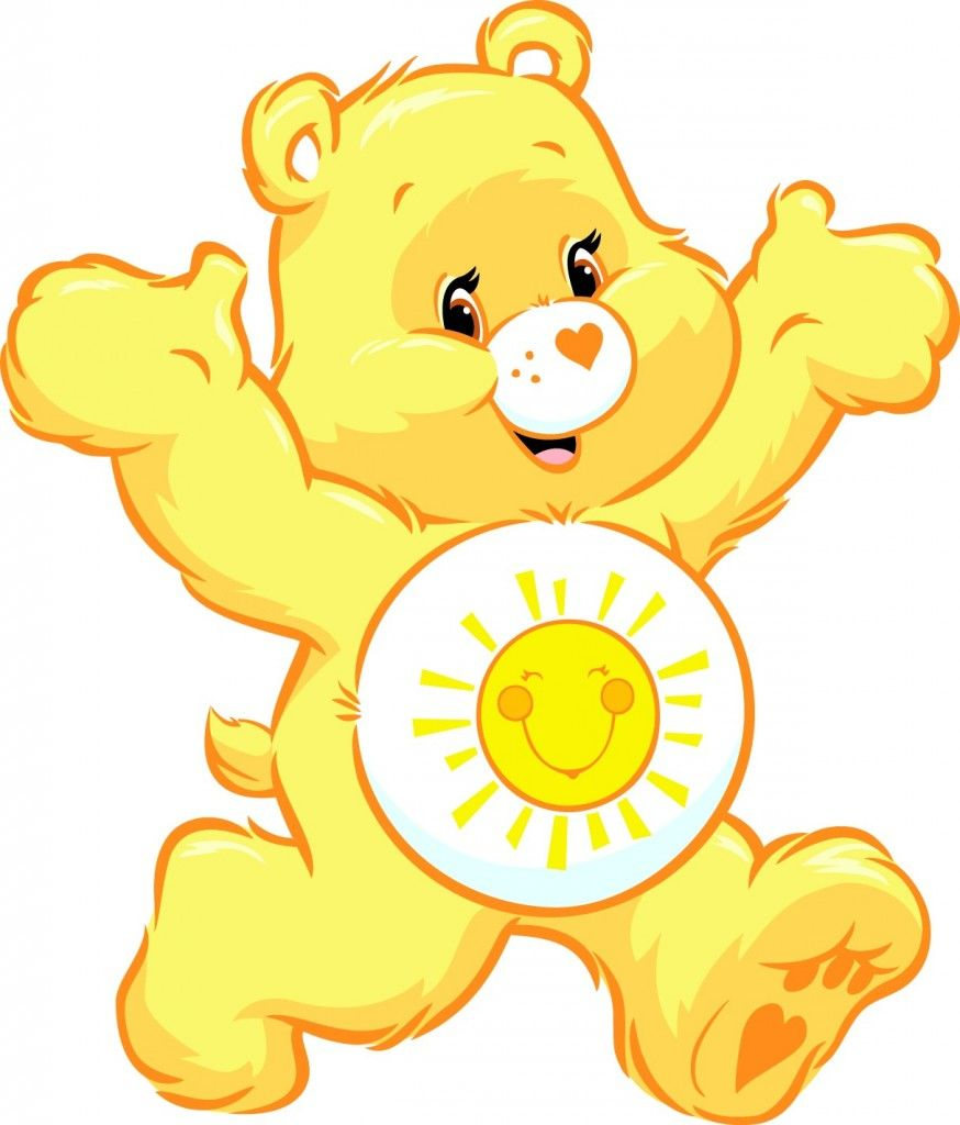 Bears clipart yellow. Care bear images google