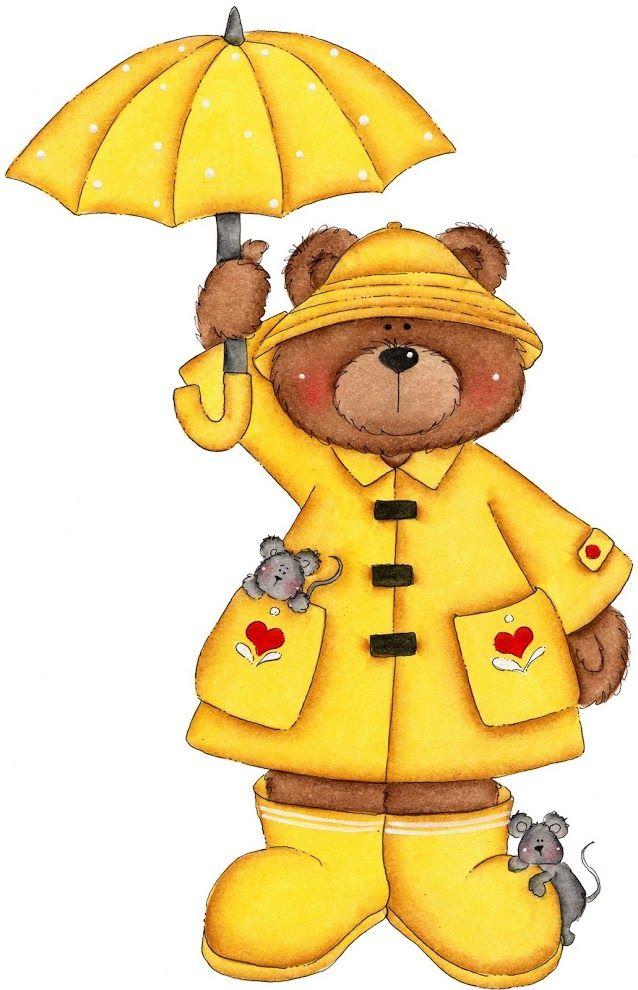 Imagenes de ositos para. Bears clipart yellow