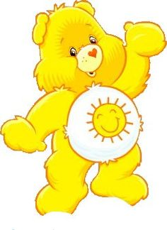 Bears clipart yellow. Care bear clip art