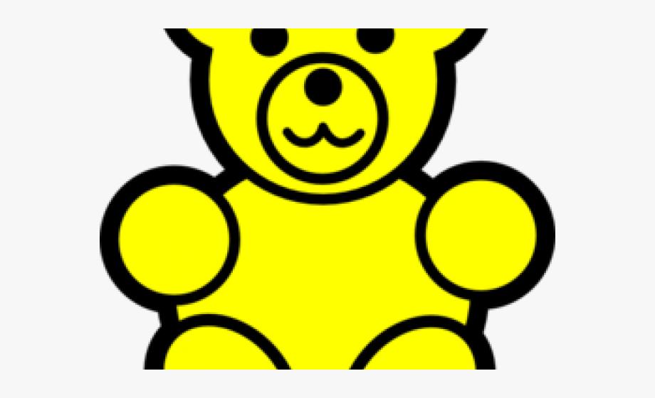 Bears clipart yellow. Gummy bear teddy tattoo