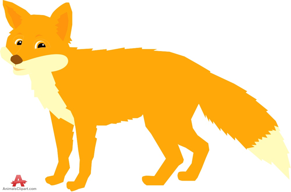Fox free design download. Beautiful clipart animal