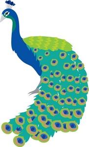 Beautiful clipart animal. Free peacock clip art