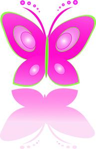 Free butterflies clip art. Beautiful clipart animal