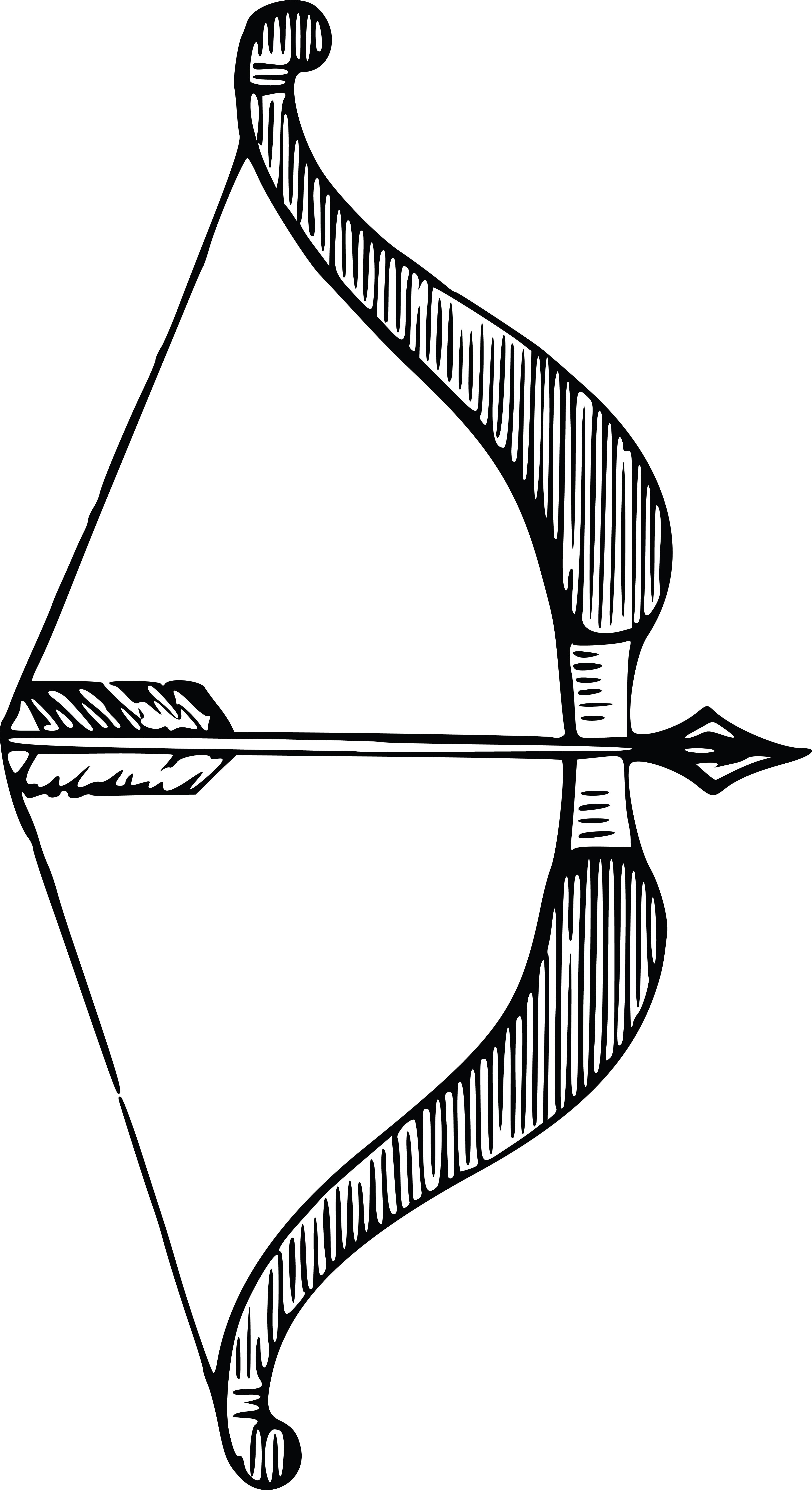 Watercolor wild arrows clip. Beautiful clipart arrow