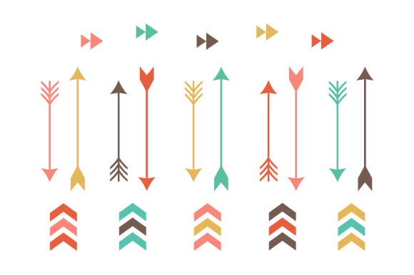 collection of cute. Beautiful clipart arrow