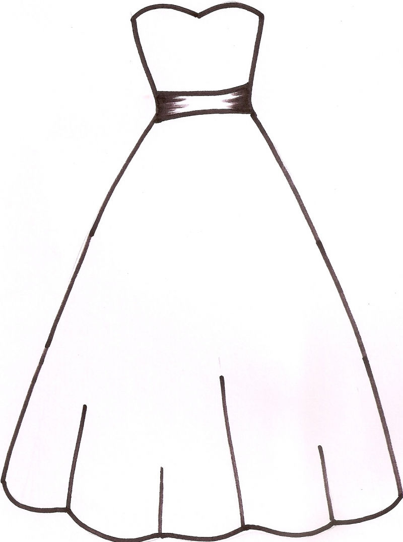 Gowns drawing at getdrawings. Beautiful clipart ball gown
