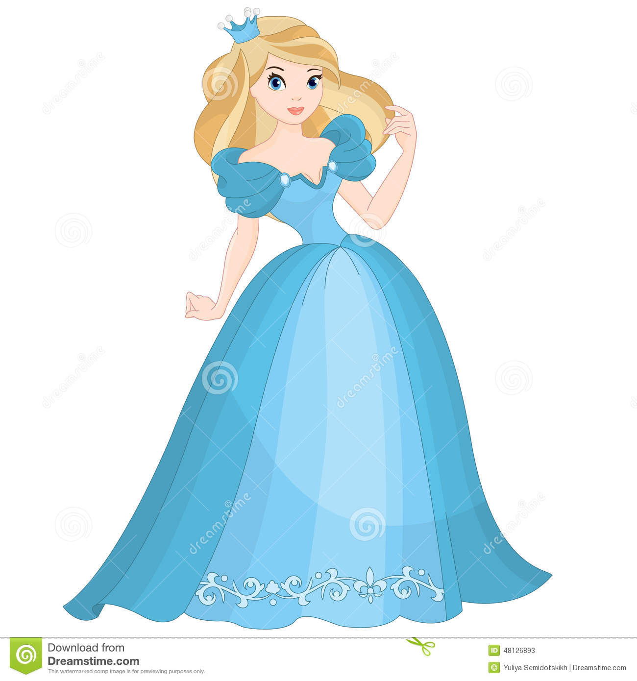Princess dress free download. Beautiful clipart ball gown