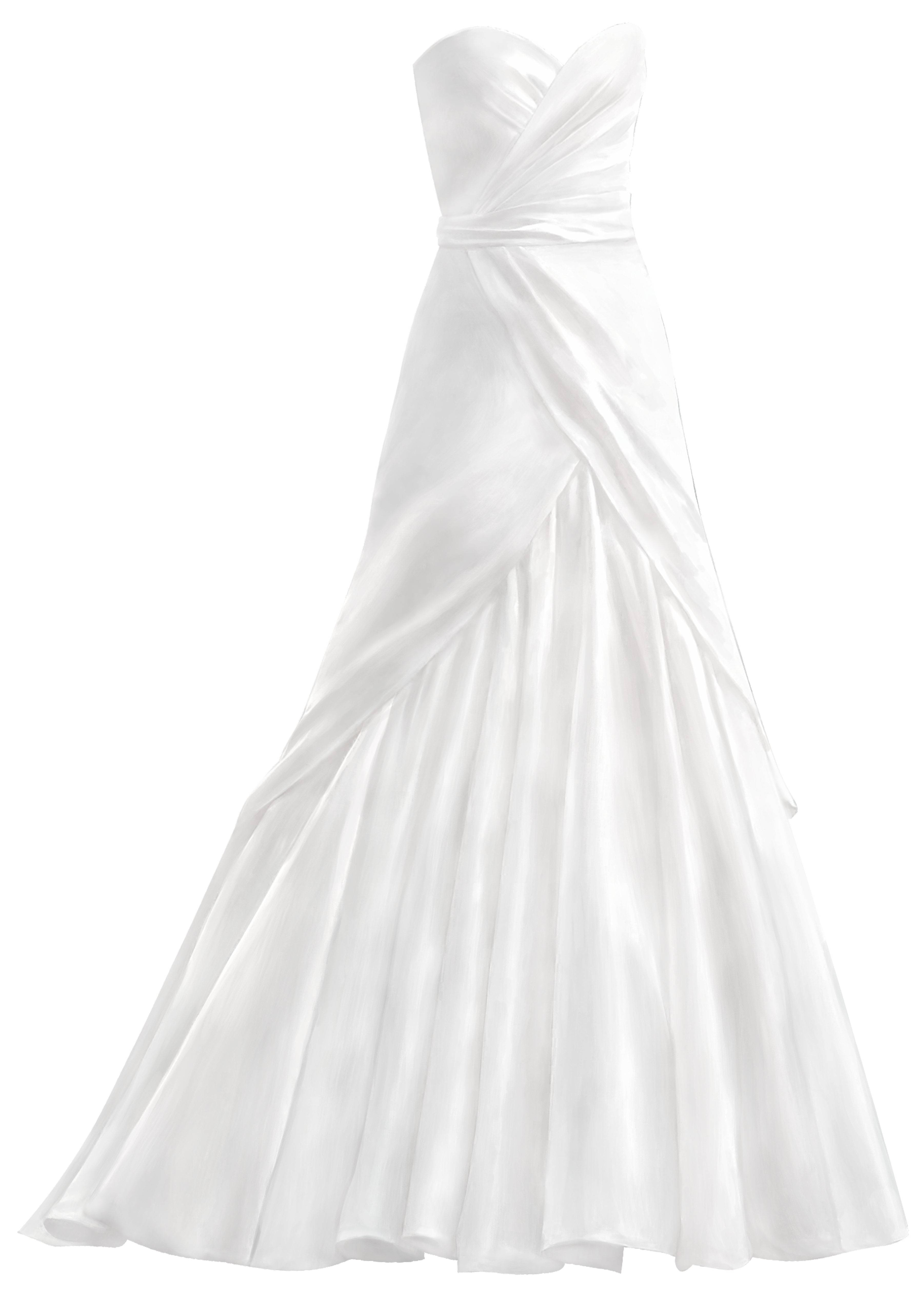 White dress png clip. Clipart anchor wedding