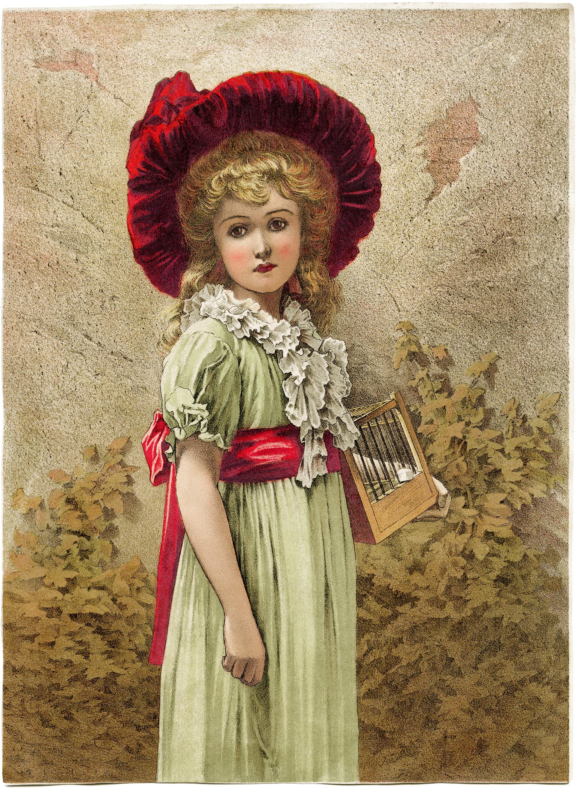 Melancholy victorian free clip. Beautiful clipart beautiful girl