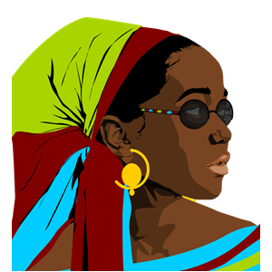 Beautiful clipart beautiful person. Black woman cliparts of