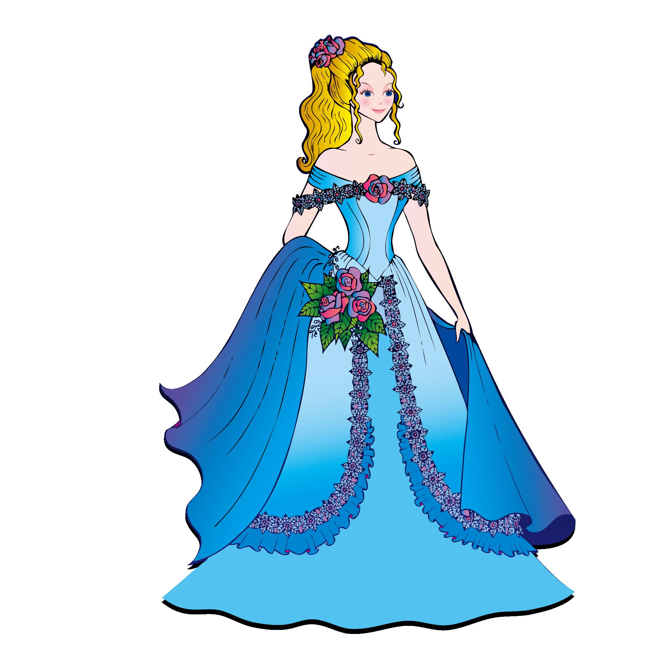 Cartoon disney clip art. Beautiful clipart beautiful princess