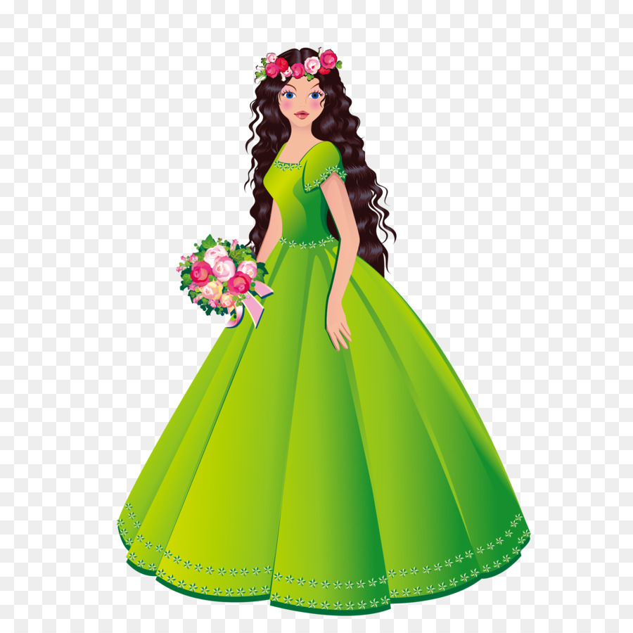 Beautiful clipart beautiful princess. Royalty free stock photography