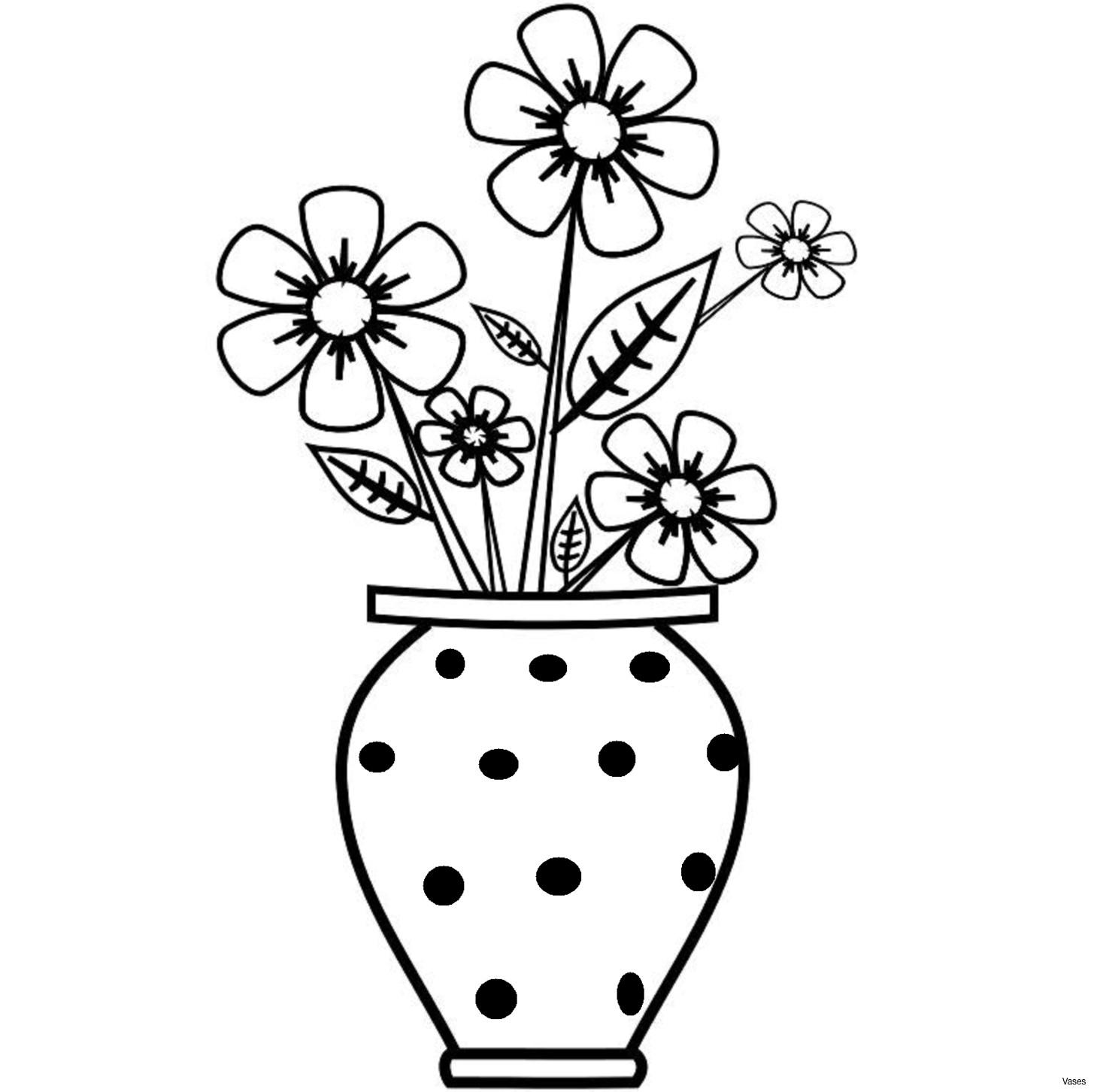 Bouquet vase clip art. Beautiful clipart black and white