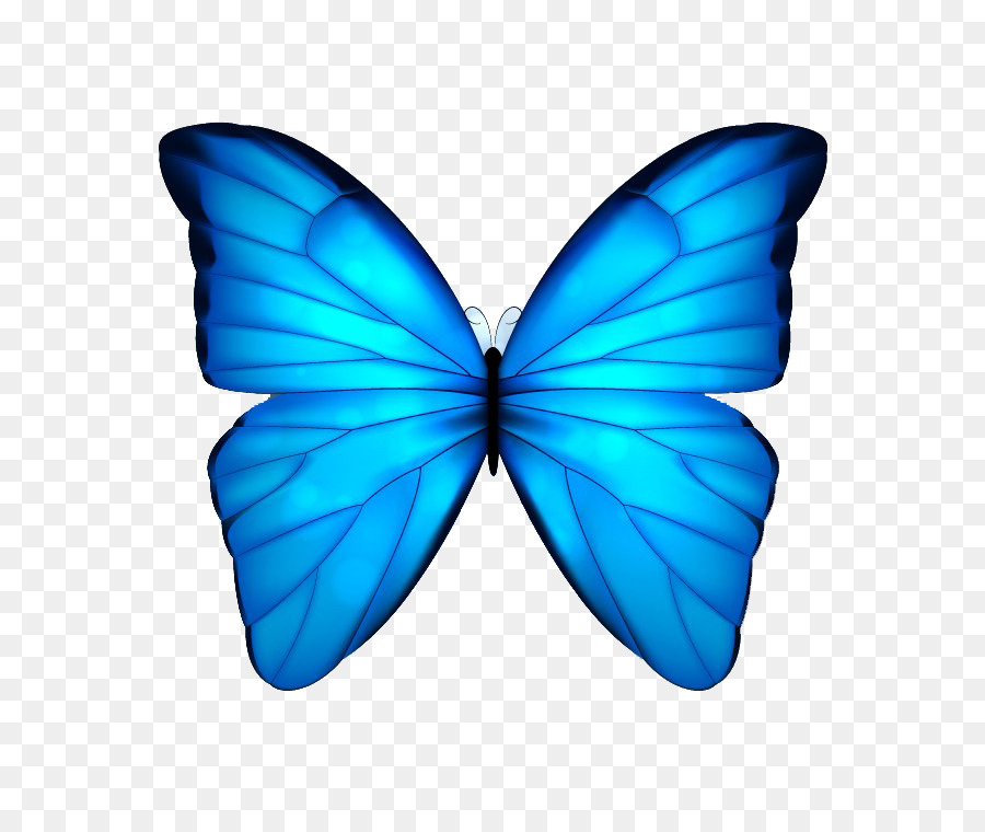 Beautiful clipart blue butterfly. Clip art watercolor painted