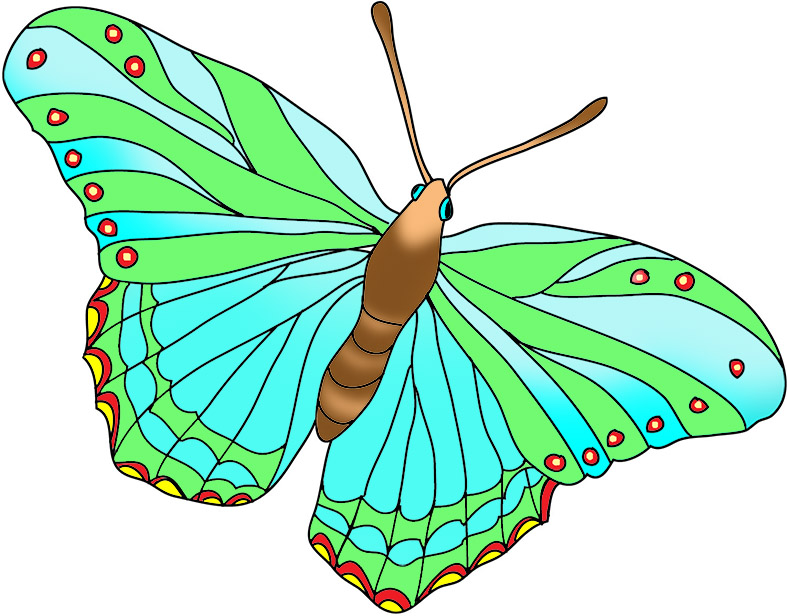 Beauty clipart butterfly. Beautiful images blue and