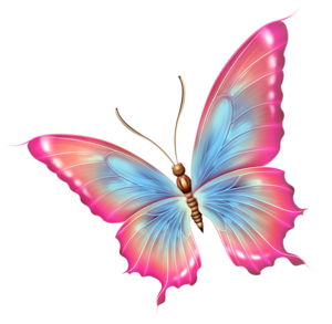 Beautiful clipart blue butterfly. Pink and diy crafts