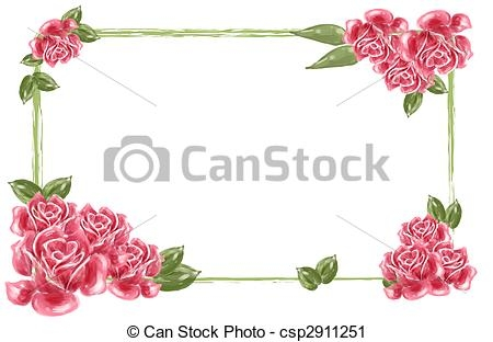 Beautiful clipart border. Rose flower red drawing