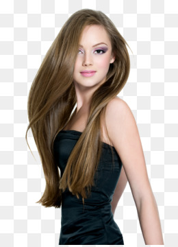 Beautiful clipart brown hair. Ponytail png and psd