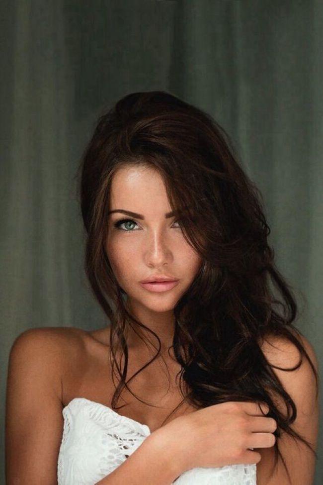Hazel eyes dark pencil. Beautiful clipart brown hair