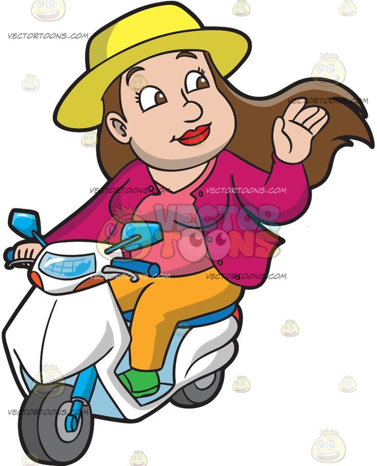 Jacket a happy woman. Beautiful clipart brown hair